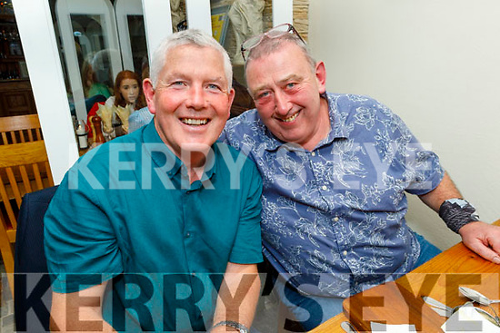 James O'Connor and Willie Kelly enjoying the evening in Bella Bia on Saturday
