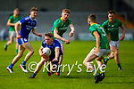 Annascauls Colm Moriarty in action against Castlegregory in the 2020 Junior football championship final
