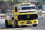 Spanish driver Alberto Mila Monteserin belonging Spanish team Alberto Mila Monteserin  during the fist race R1 of the XXX Spain GP Camion of the FIA European Truck Racing Championship 2016 in Madrid. October 01, 2016. (ALTERPHOTOS/Rodrigo Jimenez)