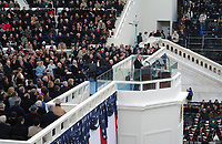 The second inauguration of President George W. Bush on January 20, 2005.<br />   <br /> <br /> Photo by Architect of the Capitol photographers.