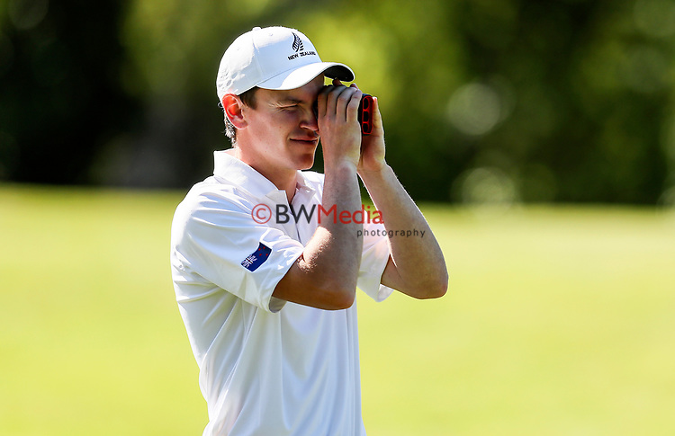 Kerry Mountcastle of New Zealand during the Asia Pacific Amateur Golf Championship Round Three, Royal Wellington Golf Course, Wellington, New Zealand, 28 October2017.  Photo: Simon Watts/www.bwmedia.co.nz