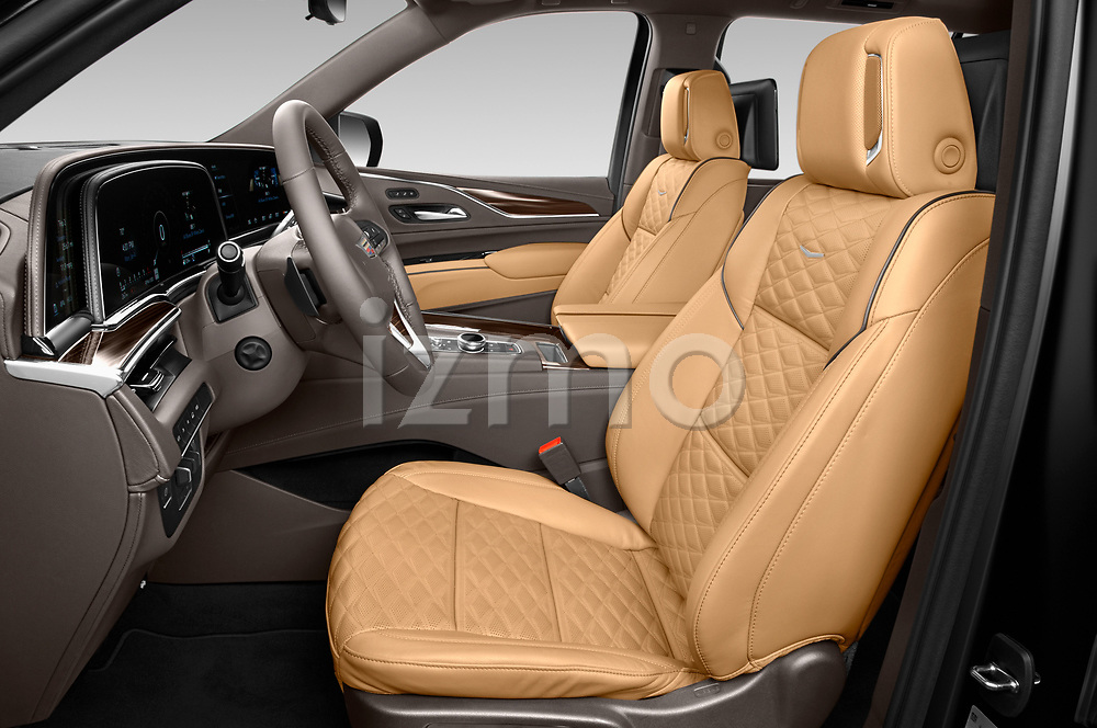 Front seat view of a 2021 Cadillac Escalade Sport 5 Door SUV