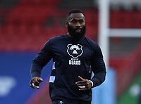 8th September 2020; Ashton Gate Stadium, Bristol, England; Premiership Rugby Union, Bristol Bears versus Northampton Saints; Semi Radradra of Bristol Bears warms up