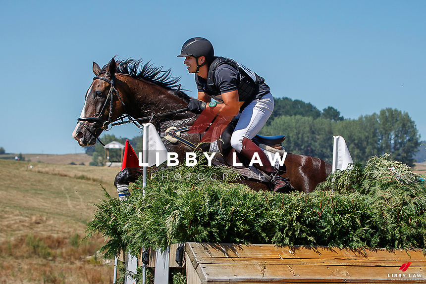 NZL-Jake Barham rides Atlan. Randlab Veterinary Medicines CCI 4*-S. 2021 NZL-RANDLAB Matamata Horse Trial. Sunday 21 February. Copyright Photo: Libby Law Photography.