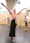 Rebecca Luker during the Rehearsal for the Kennedy Center Production of 'Little Dancer - A New Musical' at The New 42nd Street Studios on October 6, 2014 in New York City.