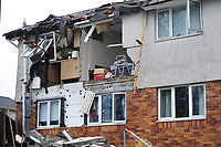 2019 01 15 Explosion in flat, Neath, Wales, UK