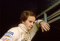 Gilles Villeneuve, pilota di Formula 1 della scuderia Ferrari;  Saint-Jean-sur-Richelieu (Canada) 1950, Zolder (Belgio) 1982