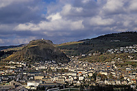 Europe/France/Auvergne/15/Cantal/Murat: Vue Générale depuis l'église de Bredons