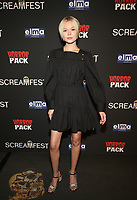 HOLLYWOOD, CA - OCTOBER 12: Page Ruth, at the 21st Screamfest Opening Night Screening Of The Retaliators at Mann Chinese 6 Theatre in Hollywood, California on October 12, 2021. Credit: Faye Sadou/MediaPunch