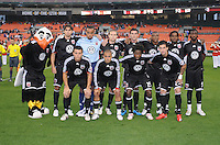 DC United Starting Eleven.  DC United defeated the New York Red Bulls 2-0, at RFK Stadium ,Thursday June 4, 2009.