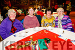 Enjoying the Irish Red Cross Tralee Branch Christmas Tea Party in the Grand Hotel on Sunday afternoon. <br /> L to r: Kathleen Martin, Kathleen McMullen, Theresa Lehane and Mary Heaslip.