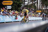 Yellow jersey Mathieu van der Poel (NED/Alpecin Fenix) with  a sprint for 4th place<br /> <br />  Stage 7 from Vierzon to Le Creusot (249.1km)<br /> 108th Tour de France 2021 (2.UWT)<br /> <br /> ©kramon