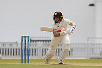 Ollie Pope of Surrey CCC pushes into the onside for runs during Surrey CCC vs Hampshire CCC, LV Insurance County Championship Group 2 Cricket at the Kia Oval on 30th April 2021