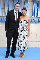 "director, Ol Parker and Thandie Newton<br /> arriving for the ""Mama Mia! Here We Go Again"" World premiere at the Eventim Apollo, Hammersmith, London<br /> <br /> ©Ash Knotek  D3415  16/07/2018"