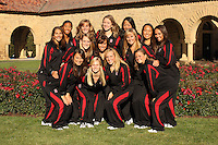 STANFORD, CA - OCTOBER 28:  (not in order) Alex Bollaidlaw, Debbie Chen, Madison Crocker, Taylor Durand, Morgan Fuller, Jessica Guenther, Megan Hansley, Maria Koroleva, Gayle Lee, Wendy Lu, Michelle Moore, Olivia Morgan, Corinne Smith, and Kimiko Urata during picture day on October 28, 2009 in Stanford, California.