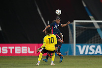WIENER NEUSTADT, AUSTRIA - MARCH 25: Reggie Cannon #20 of the United States during a game between Jamaica and USMNT at Stadion Wiener Neustadt on March 25, 2021 in Wiener Neustadt, Austria.