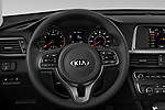 Car pictures of steering wheel view of a 2018 KIA Optima LX 4 Door Sedan Steering Wheel