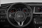 Car pictures of steering wheel view of a 2018 KIA Optima LX 4 Door Sedan Steering Wheel