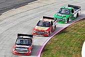 #18: Noah Gragson, Kyle Busch Motorsports, Toyota Tundra Safelite AutoGlass, #13: Myatt Snider, ThorSport Racing, Ford F-150, #41: Ben Rhodes, ThorSport Racing, Ford F-150