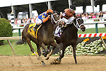 May 16, 2014: Stopchargingmaria with JAvier Castellano wins the Grade II Black-eyed Susan Stakes, 3-year old fillies, going 1 1/8 mile at Pimlico Racetrack. Trainer: Todd Pletcher. Owner: Repole Stable . Sue Kawczynski/ESW/CSM