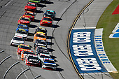 #20: Christopher Bell, Joe Gibbs Racing, Toyota Supra Rheem-Johns Mansville and #2: Tyler Reddick, Richard Childress Racing, Chevrolet Camaro Roland