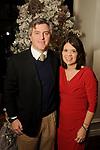 Michael and Bevin Barrett at the M.D. Anderson Santa's Elves party Thursday Dec. 07,2017. (Dave Rossman Photo)