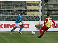 Matteo Politano  durante il Triangolare precampionato nel ritiro estivo  tra Napoli , L'Aquila e il Castel Di Sangro allo stadio Patini