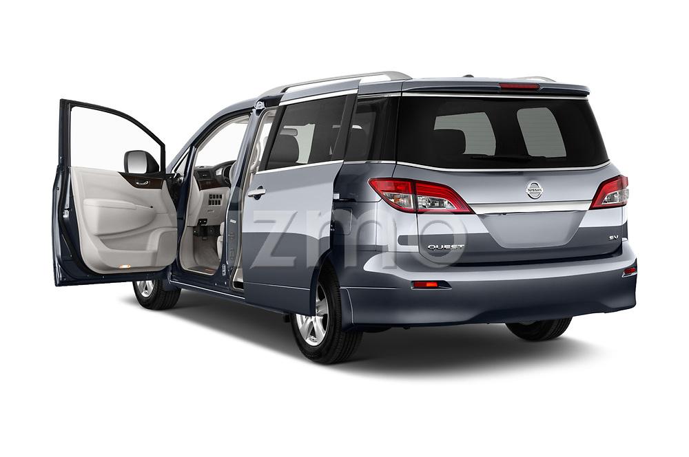 Car images of 2017 Nissan Quest SV 5 Door Minivan Doors