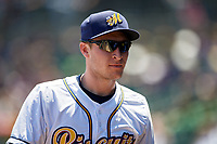 Montgomery Biscuits Alec Sole (11) during a game against the Mississippi Braves on April 25, 2017 at Montgomery Riverwalk Stadium in Montgomery, Alabama.  Mississippi defeated Montgomery 3-2.  (Mike Janes/Four Seam Images)