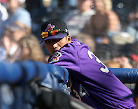 Akron Aeros Rafael Perez during an Eastern League game at Canal Park on April 15, 2006 in Akron, Ohio.  (Mike Janes/Four Seam Images)