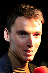 Romain Bardet (FRA) speaks to the media at the Tour de France 2020 route presentation held in the Palais des Congrès de Paris (Porte Maillot), Paris, France. 15th October 2019.<br /> Picture: Eoin Clarke | Cyclefile<br /> <br /> All photos usage must carry mandatory copyright credit (© Cyclefile | Eoin Clarke)