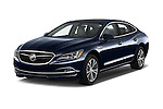 2018 Buick LaCrosse Essence 4 Door Sedan Angular Front stock photos of front three quarter view