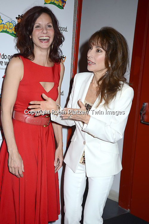 """Florencia Lozano and Susan Lucci  attend the Premiere of """"La Golda"""" which is Judy Reyes' New Animation Project on April 26, 2014 at Lighthouse International in New York City, NY, USA"""