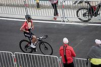 Nacer Bouhanni (FRA/Arkéa-Samsic) up the Mont Ventoux<br /> <br /> Stage 11 from Sorgues to Malaucène (199km) running twice over the infamous Mont Ventoux<br /> 108th Tour de France 2021 (2.UWT)<br /> <br /> ©kramon