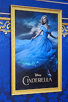 """LOS ANGELES - MAR 1:  Cinderella Poster at the """"Cinderella"""" World Premiere at the El Capitan Theater on March 1, 2015 in Los Angeles, CA"""