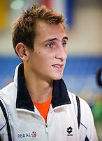 02-03-11, Tennis, Oekraine, Charkov, Daviscup, Oekraine - Netherlands, Kopman Thiemo de Bakker