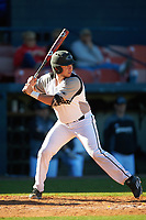 Wisconsin-Milwaukee Panthers designated hitter John Boidanis (27) at bat during a game against the Bethune-Cookman Wildcats on February 26, 2016 at Chain of Lakes Stadium in Winter Haven, Florida.  Wisconsin-Milwaukee defeated Bethune-Cookman 11-0.  (Mike Janes/Four Seam Images)