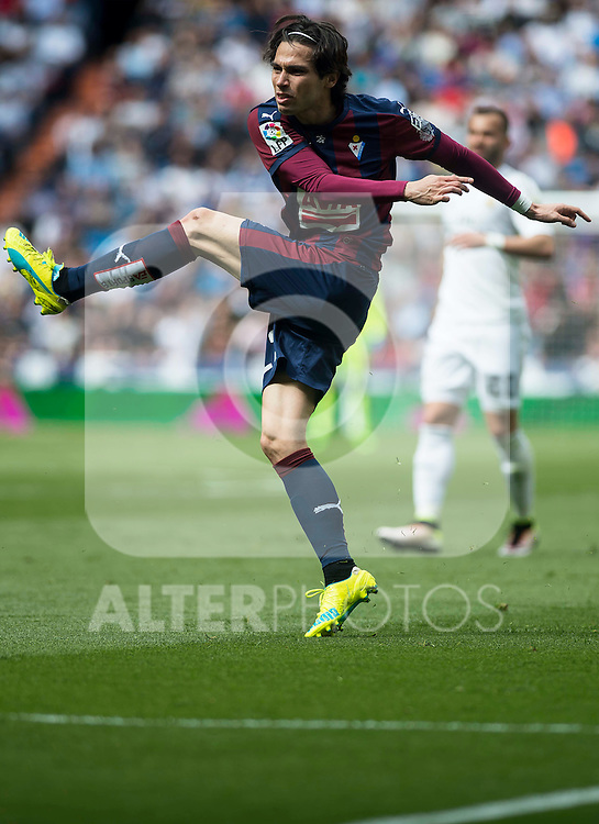 Sociedad Deportiva Eibar's Jota Peleteiro during La Liga match. April 09, 2016. (ALTERPHOTOS/Borja B.Hojas)