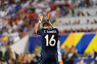 Harrison, NJ - Friday July 07, 2017: Christian Gamboa during a 2017 CONCACAF Gold Cup Group A match between the men's national teams of Honduras (HON) vs Costa Rica (CRC) at Red Bull Arena.