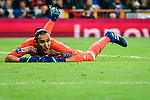 Goalkeeper Keylor Navas of Real Madrid in action during the UEFA Champions League 2017-18 quarter-finals (2nd leg) match between Real Madrid and Juventus at Estadio Santiago Bernabeu on 11 April 2018 in Madrid, Spain. Photo by Diego Souto / Power Sport Images