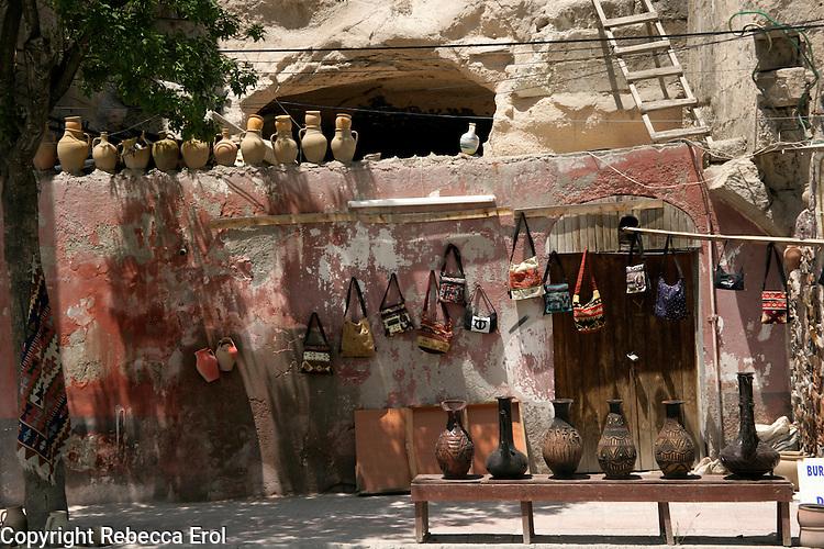 Pottery for sale at Avanos, Cappadocia