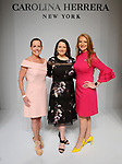 Rosemary Schatzman, Darcie Champagne Wells and Kemah Blair-Flores at the Houston Chronicle's 2019 Best Dressed Luncheon and Fashion Show at the Post Oak Hotel Thursday March 28,2019.  (Dave Rossman Photo)