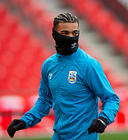 21st November 2020; Bet365 Stadium, Stoke, Staffordshire, England; English Football League Championship Football, Stoke City versus Huddersfield Town; Juninho Bacuna of Huddersfield Town during the warm up