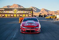 Nov 3, 2019; Las Vegas, NV, USA; NHRA pro stock driver Erica Enders after winning the Dodge Nationals at The Strip at Las Vegas Motor Speedway. Mandatory Credit: Mark J. Rebilas-USA TODAY Sports