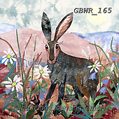 Simon, REALISTIC ANIMALS, REALISTISCHE TIERE, ANIMALES REALISTICOS, innovative, paintings+++++KateFindlay_NoondayHare,GBWR165,#a#, EVERYDAY,rabbit