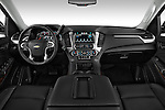 Straight dashboard view of a 2015 Chevrolet Suburban 2WD 1500 LT 5 Door SUV