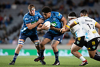 3rd April 2021; Eden Park, Auckland, New Zealand;  Blues prop Ofa Tuungafasi during the Super Rugby Aotearoa rugby match between the Blues and the Hurricanes held at Eden Park, Auckland, New Zealand.
