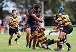 Kings College 1st XV v New Plymouth Boys High, Kings College, Auckland, New Zealand. Saturday 8 April 2017. Photo: Simon Watts/www.bwmedia.co.nz for Kings College