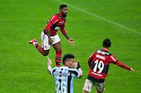 25th August 2021; Arena do Gremio, Porto Alegre, Brazil; Copa Do Brazil, Gremio versus Flamengo; Rodinei of Flamengo celebrates his goal in the 91st minute for 3-0