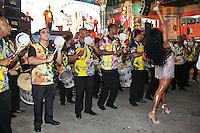 SAO PAULO, SP, 09 DE DEZEMBRO DE 2011, Integrantes da VAI VAI, no LANÇAMENTO DO CD DA LIGA DAS ESCOLAS DE SAMBA 2012 na quadra da Escola de Samba Rosas de Ouro, zona norte de SP.  (FOTO: MILENE CARDOSO / NEWS FREE)